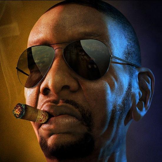 Персонаж гангстера из игры