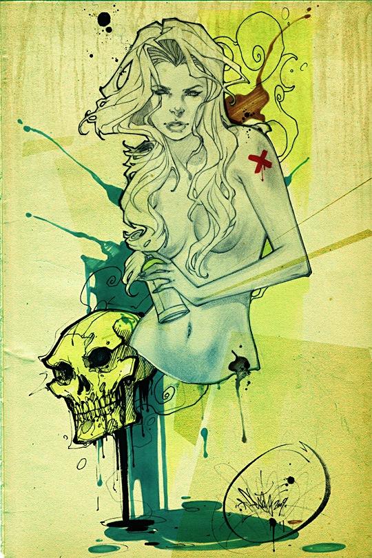 граффити иллюстрация
