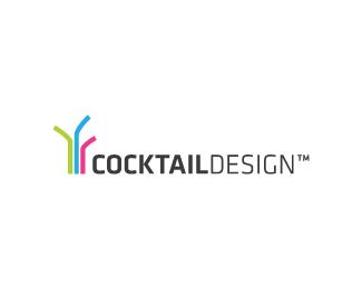 яркие трубочки в дизайне лого