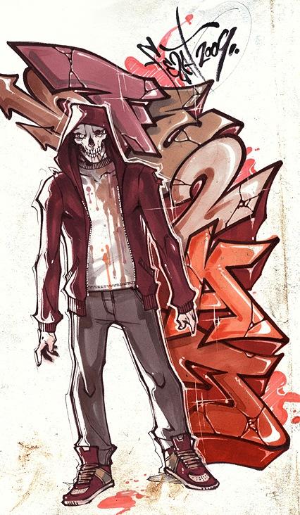 стильные граффити изображения