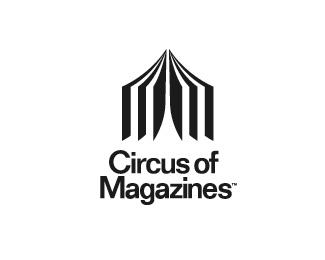 логотип в форме шапито
