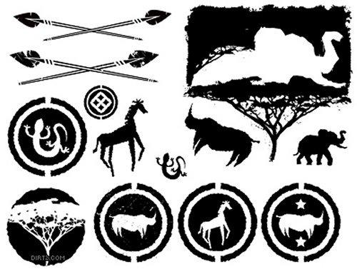 Африканские векторные изображения