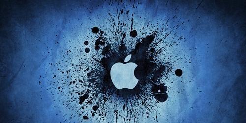 обои с иллюстрацией apple