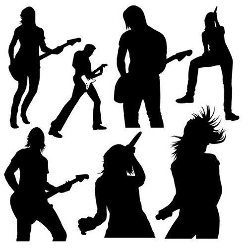 Музыкальные силуэты