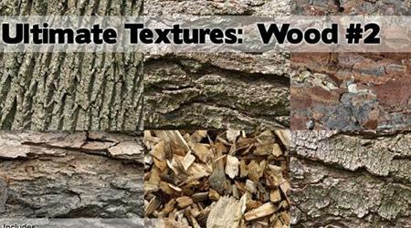 7 простых текстур деревянной коры