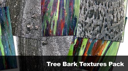 Текстуры деревянной коры