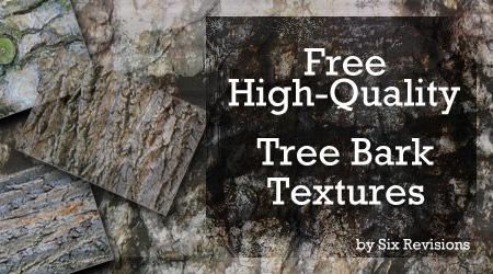 10 текстур деревянной коры в высоком разрешении