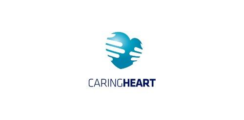 логотип в виде сердца