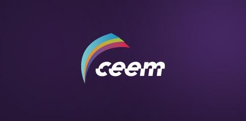 искривленный логотип