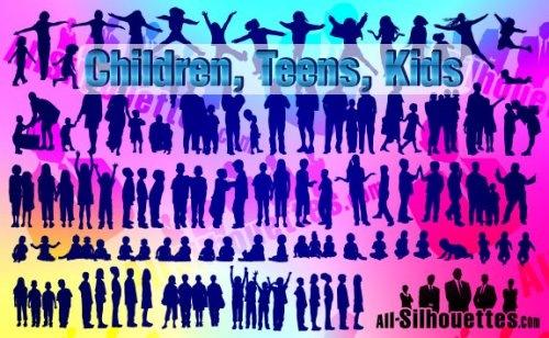Дети, малыши и подростки