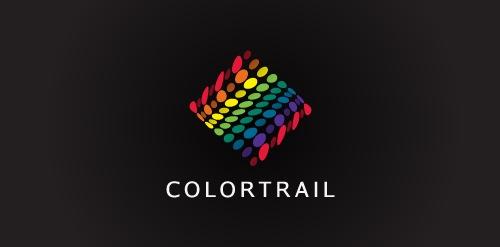 яркий абстрактный логотип