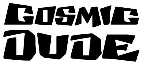 Космический шрифт