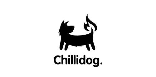собака с горящим хвостом