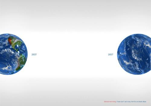 Осознайте результаты глобального потепления: Земля