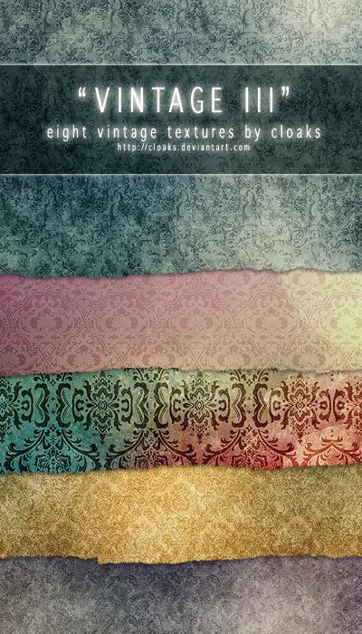 Набор винтажных текстур