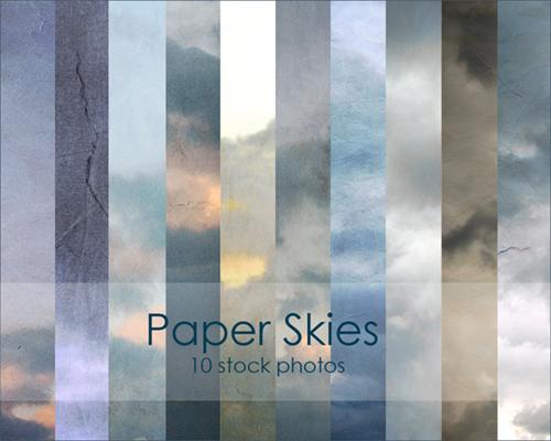 Бумажные текстуры