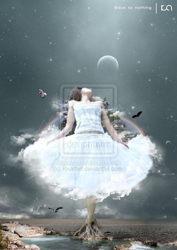 девушка-небо