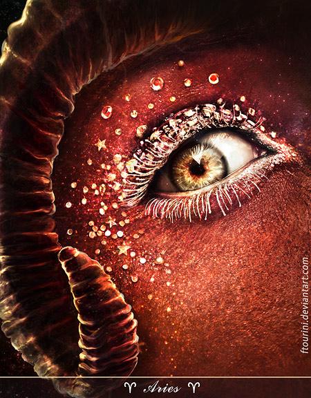 глаза Овна