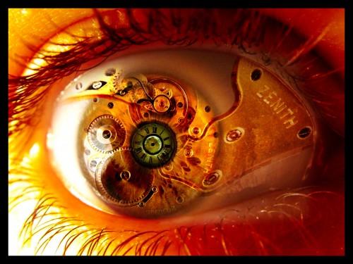 часовой механизм в глазу