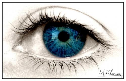 креативные фотоманнипуляции с глазами
