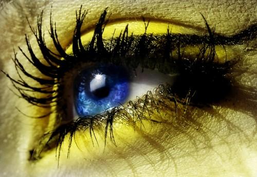 глаза богини солнца