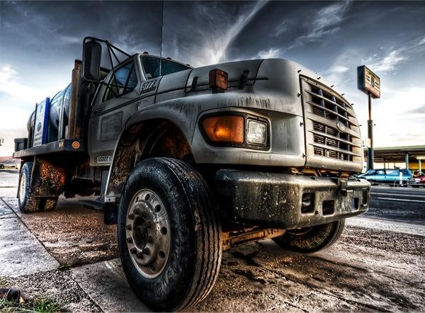 фото грузовой машины в хдр