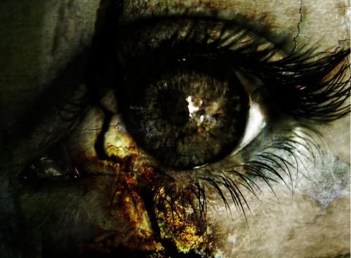 червивый глаз