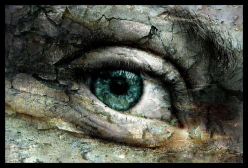 разрушенные глаза