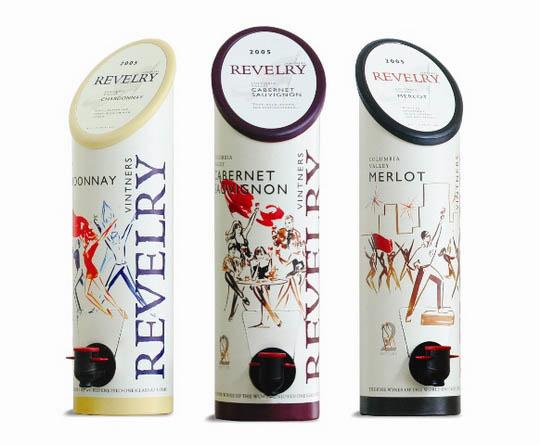 Дизайн пакетов под вино