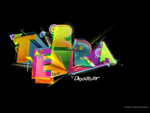 яркие типографические краски