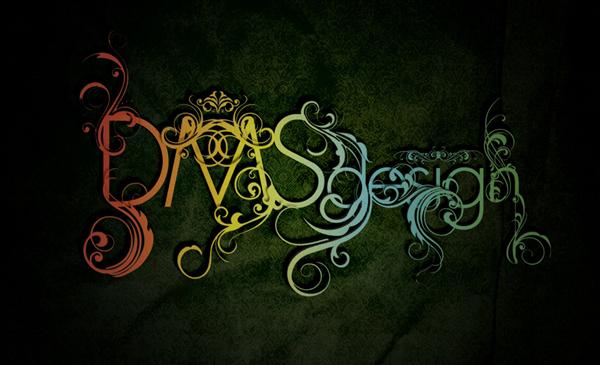 креативные типографические шрифты
