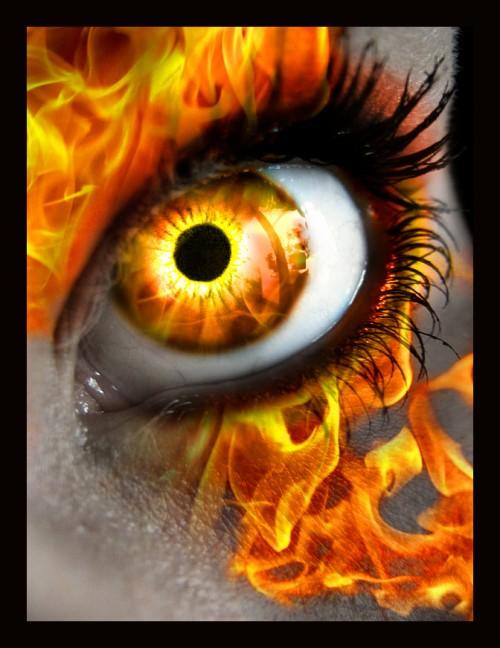 пылающий глаз