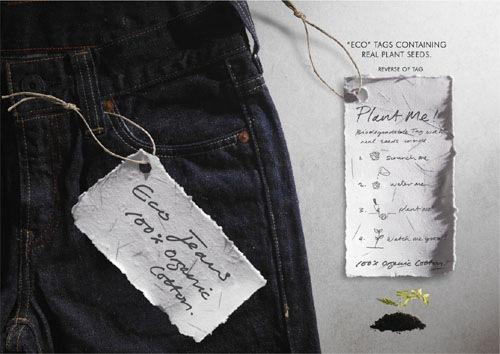 Реклама Levi's: Экологически джинсы!