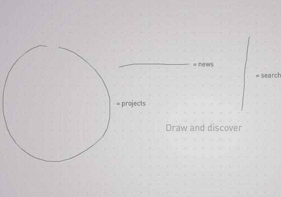 креативный флеш дизайн