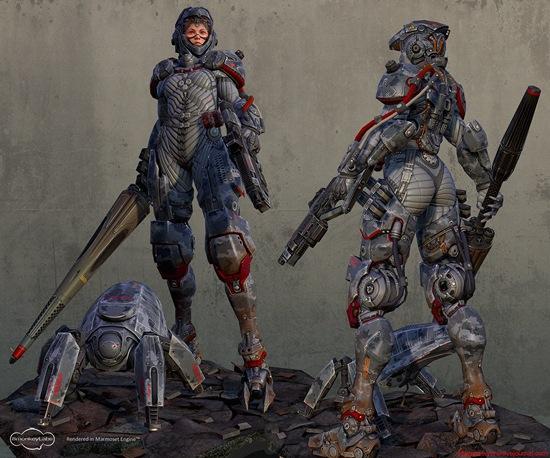 Девушки-роботы