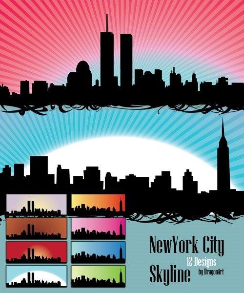 Нью-Йоркские горизонты в векторе