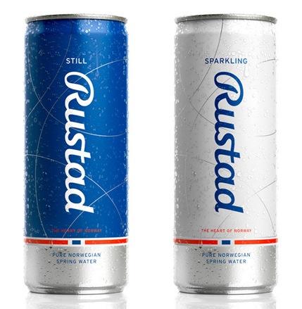 Дизайн для жестяной банки с напитком
