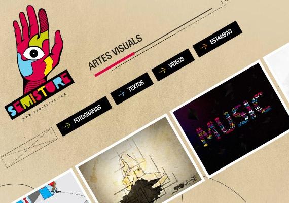 творческий и насыщенный анимацией дизайн