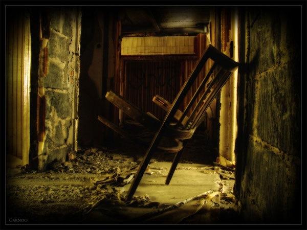 заброшенный дом хдр