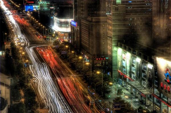 улица в хдр
