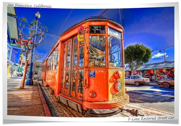 яркий хдр трамвай