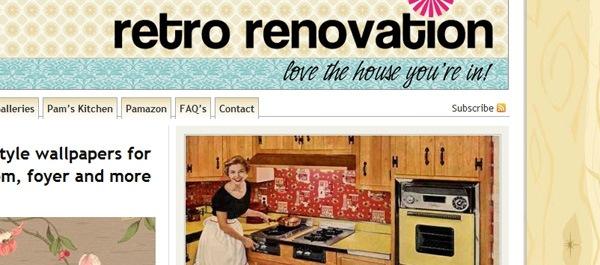 ретро дизайн сайта