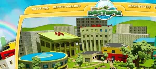 иллюстрированный красочный сайт