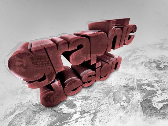 стильный типографический дизайн постера