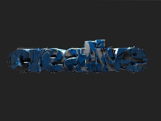 типографические шрифты в потрескавшейся краске