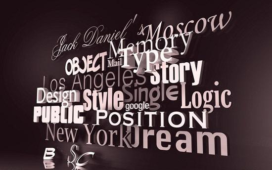 типографический дизайн