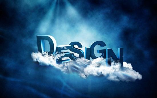3D типографика