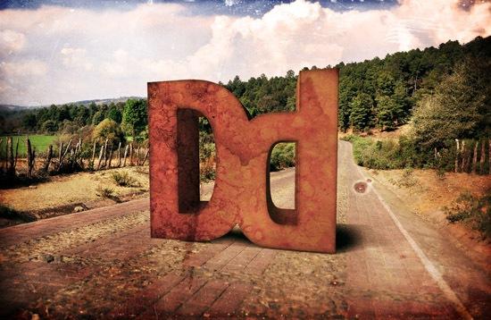 3d буквы из камня
