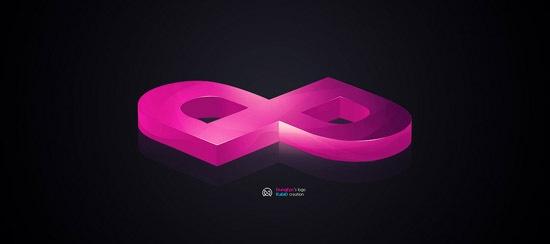 глянцевые 3D буквы