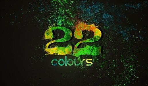 22 цвета